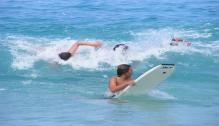 We love riding waves